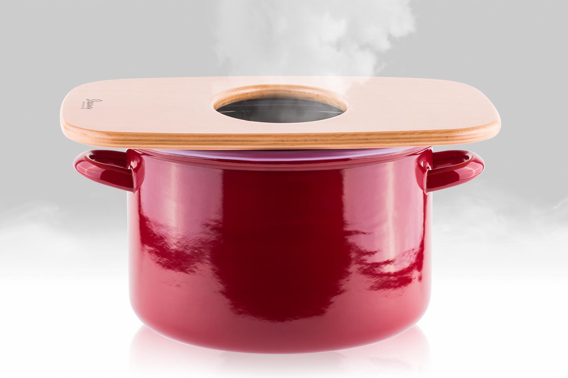 Sedátko Steamy pro ženskou bylinnou vaginální napářku na hrnci